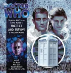 Protect and Survive signed  Doctor Who Big Finish CD